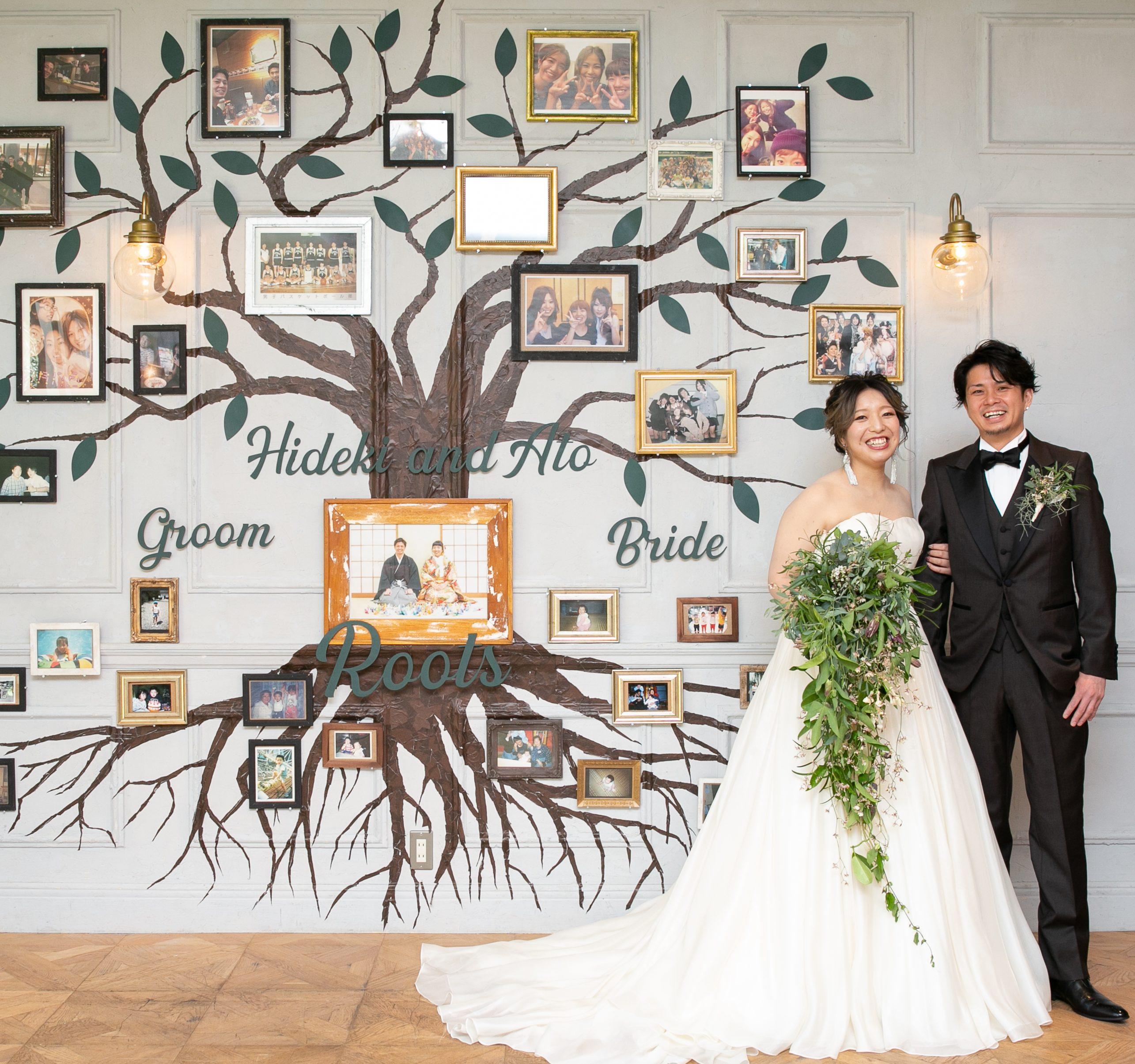 結婚式は普段言えない「ありがとう」が伝えられる日