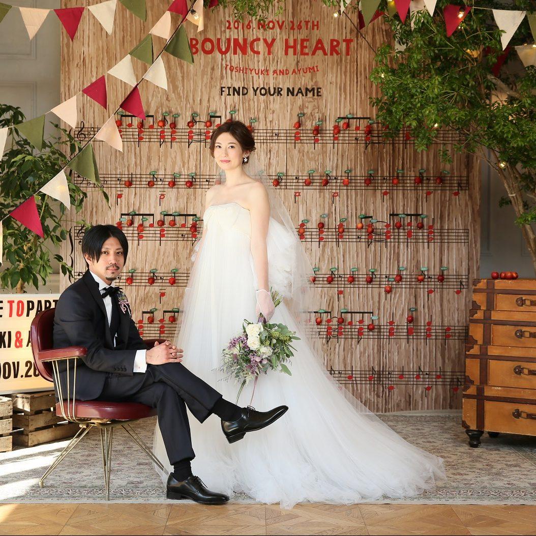 心躍る 心跳ねる Wedding♪